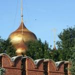 Тула. Купола Успенского собора.