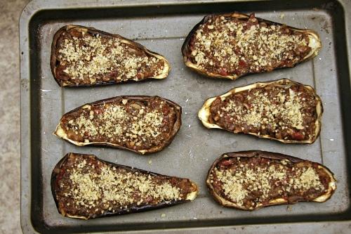 Баклажаны с грецким орехом