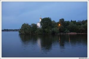 Церковь Святого Николая на Комсомольском острове