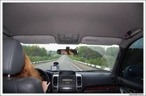 Дорога к дому глазами спящего пассажира