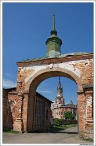 Ворота в Можайский кремль