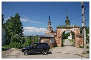 Вход в Можайский кремль