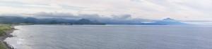 Тихоокеанское побережье и вулкан Тятя