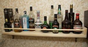 Полка для алкоголя