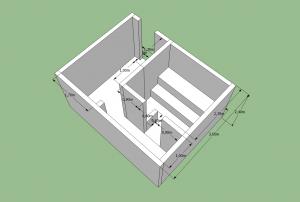 Проект бани v2 вид сзади