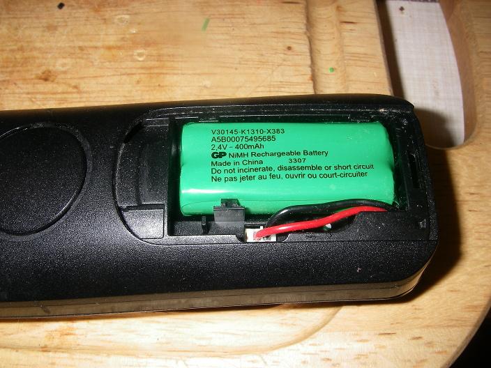 Как заменить аккумулятор на радиотелефоне