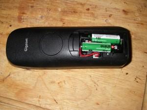Gigaset и новый аккумулятор