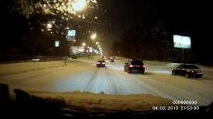 Дороги после снегопада