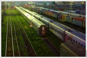 Отстойник Белорусского вокзала