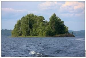 Остров в Ладоге