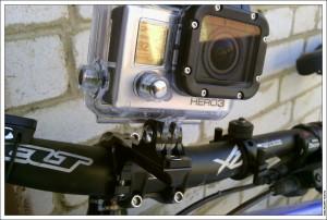 Крепление GoPro на руль