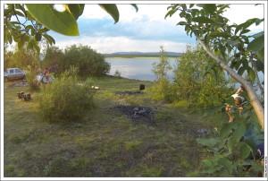 Стоянка на оз. Большая Имандра