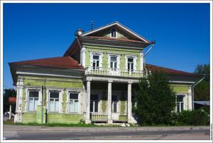 Дом в Вологде