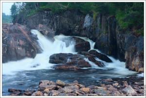 Второй водопад на Титовке