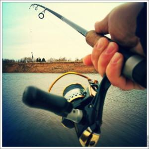 Рыбалка на Москва-реке