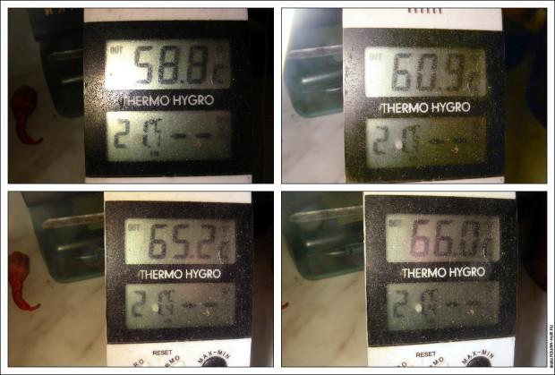 Температура HXN-WS