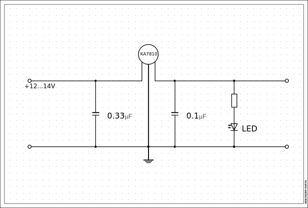 Регулятор напряжения для Baofeng UV-5R